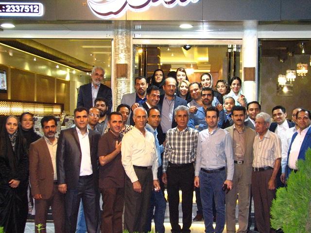 عکس دسته جمعی افطاری انجمن صنفی اصفهان 3